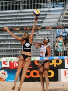 Le Beach Volley Pour Muscler Ses Fessiers
