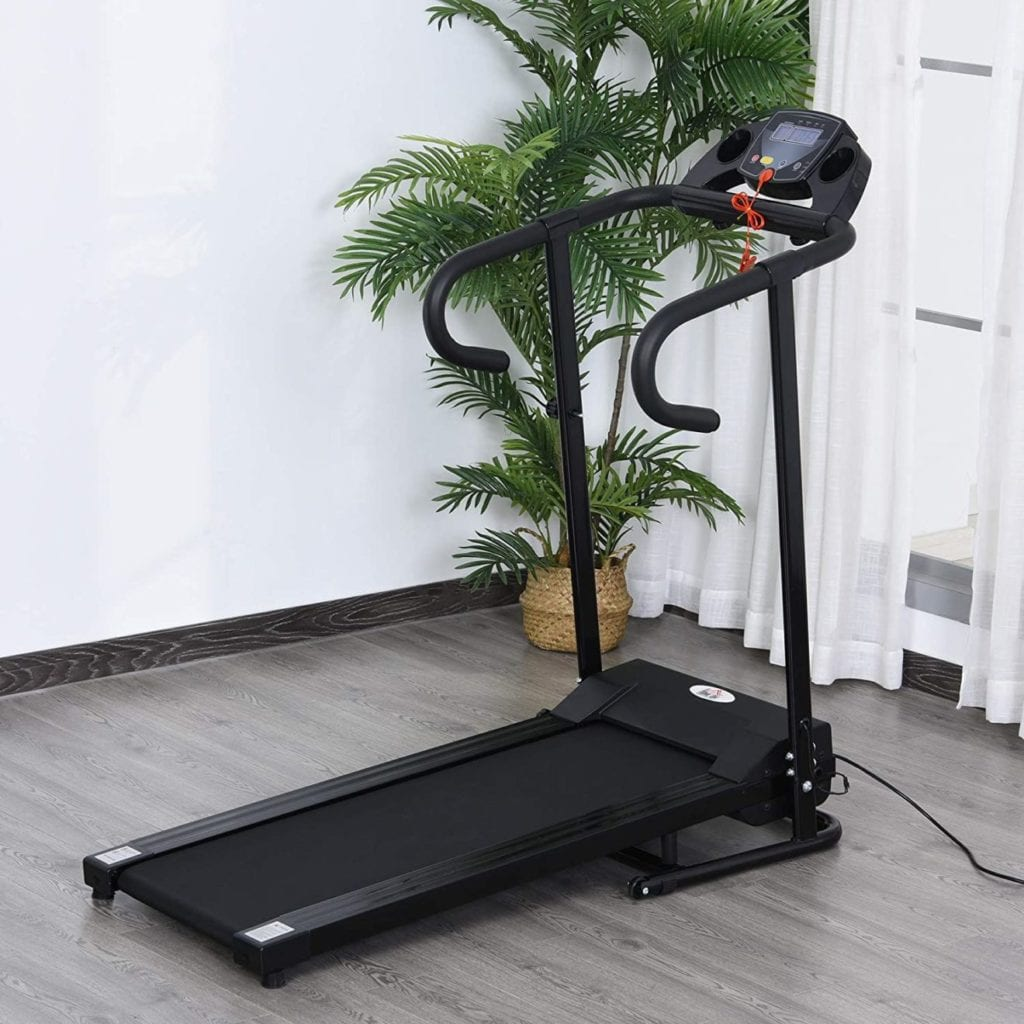Vue D'ensemble Du Tapis De Course Pliable Homecom